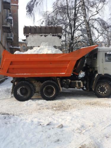Уборка снега 21.02.2018
