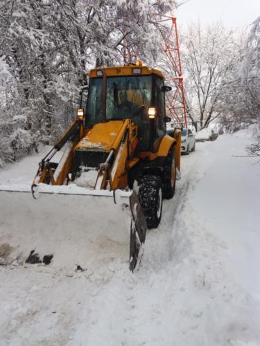 Уборка снега 05.02.2018